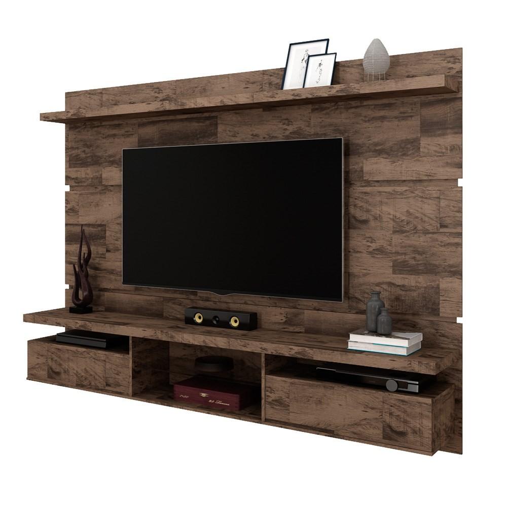 Painel Bancada Suspensa para TV até 60 Polegadas 2.2 Lívia H01 Deck - Mpozenato