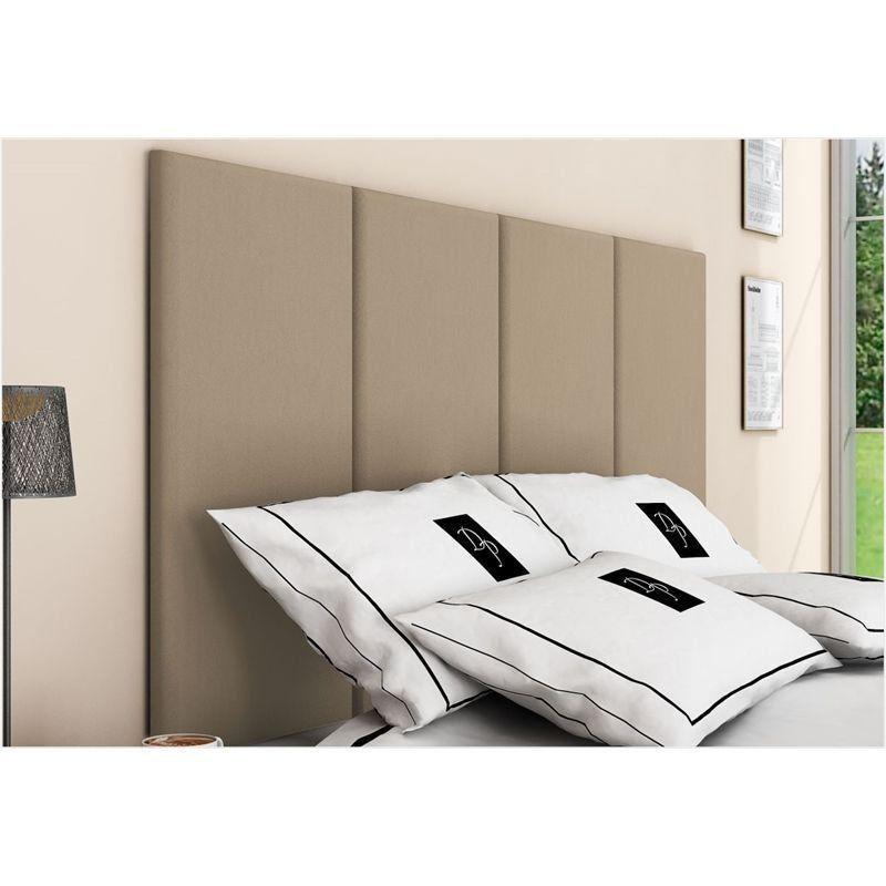Painel Cabeceira 4 Placas Para Cama Box Casal Queen 160 cm - TES Decor