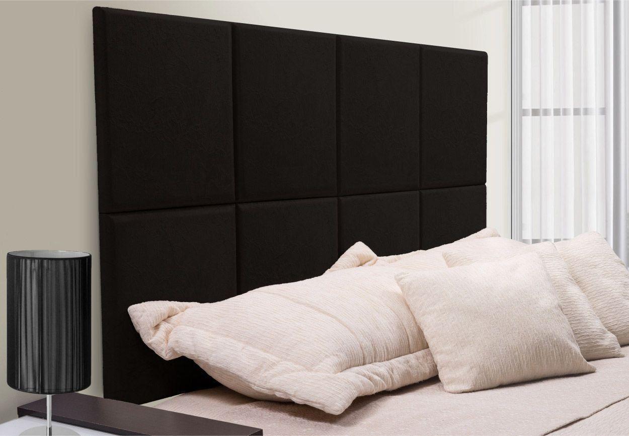 Painel Cabeceira Para Cama Box Casal King Size 200cm Turano - TES Decor
