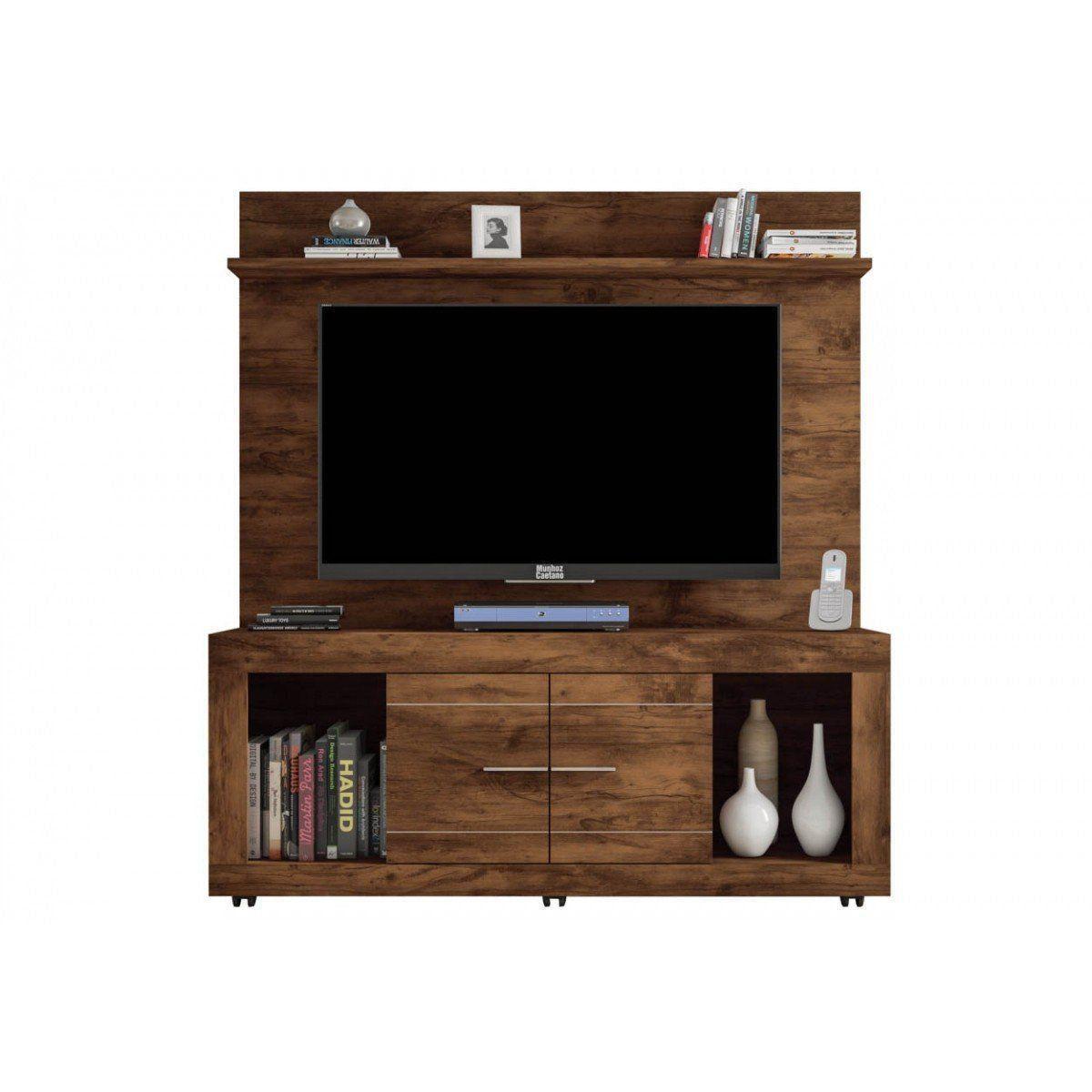 Painel com Rack Triunfo para TV de até 60 Polegadas - Caemmun