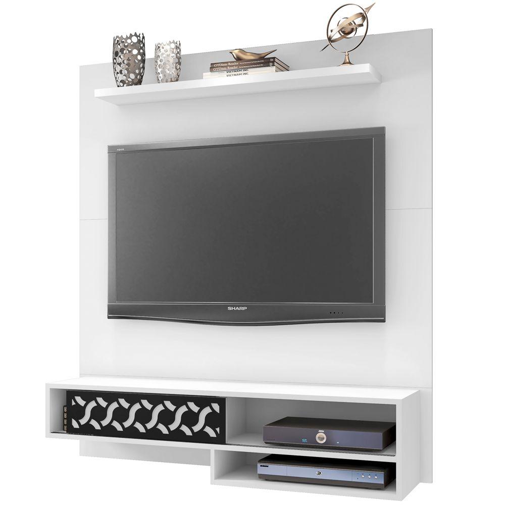 Painel Home Suspenso para TV de até 50 Polegadas Orleans - Móveis Leão