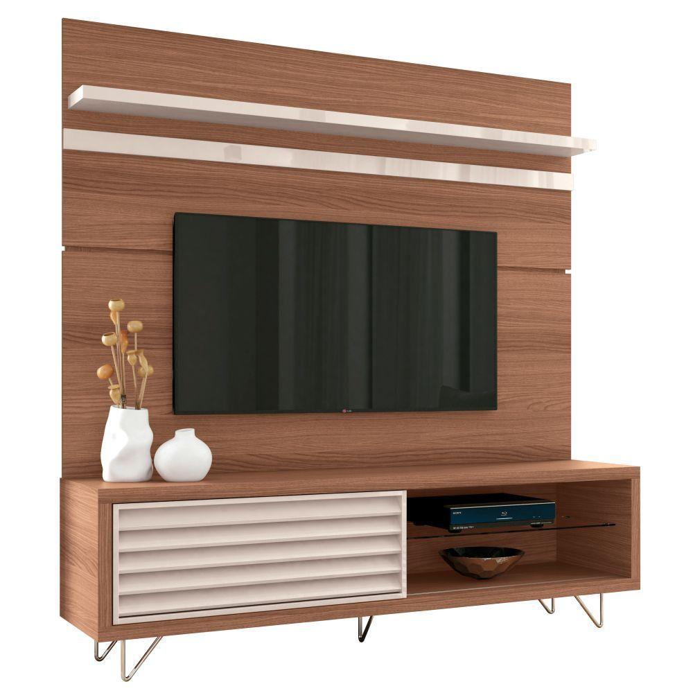 Painel para TV com Bancada até 70 Polegadas Venezza - HB Móveis