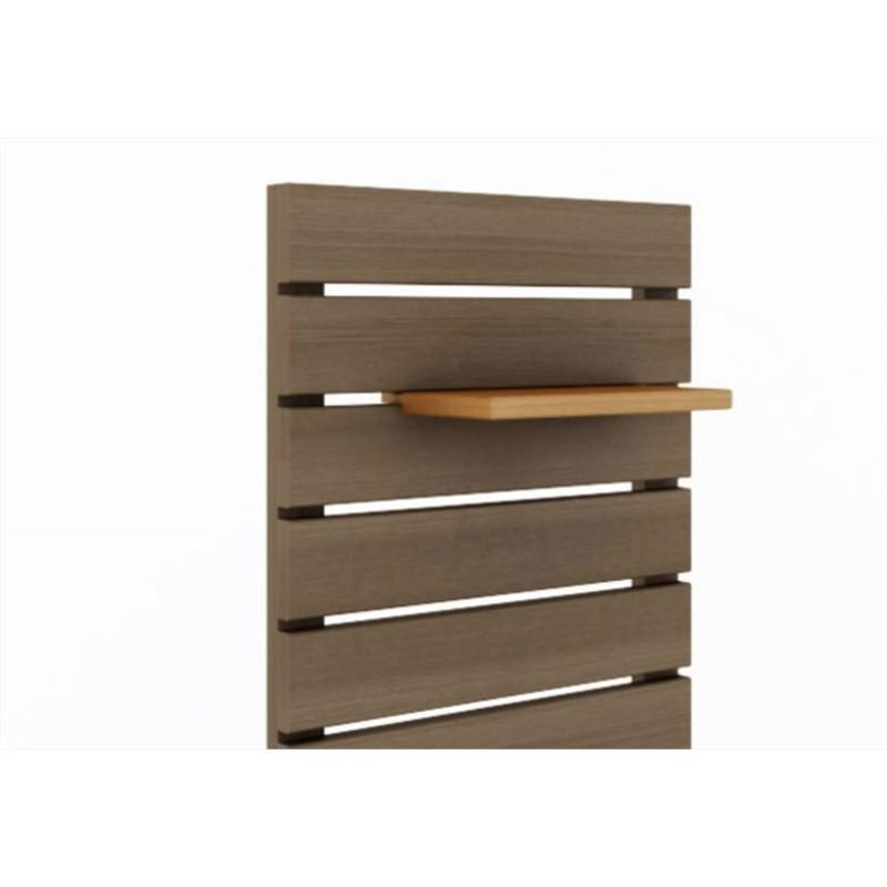 Painel Vertical Componível Nogueira - Mão & Formão