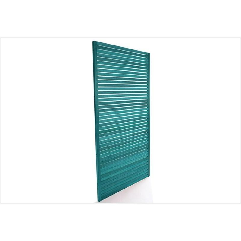 Painel Vertical Zen Stain Azul - Mão e Formão