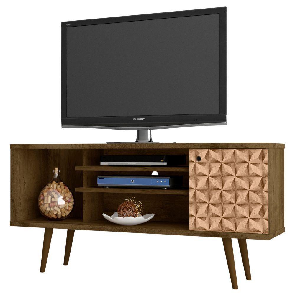 Rack para TV até 60 Polegadas Safira 135 cm 01 Porta - Bechara