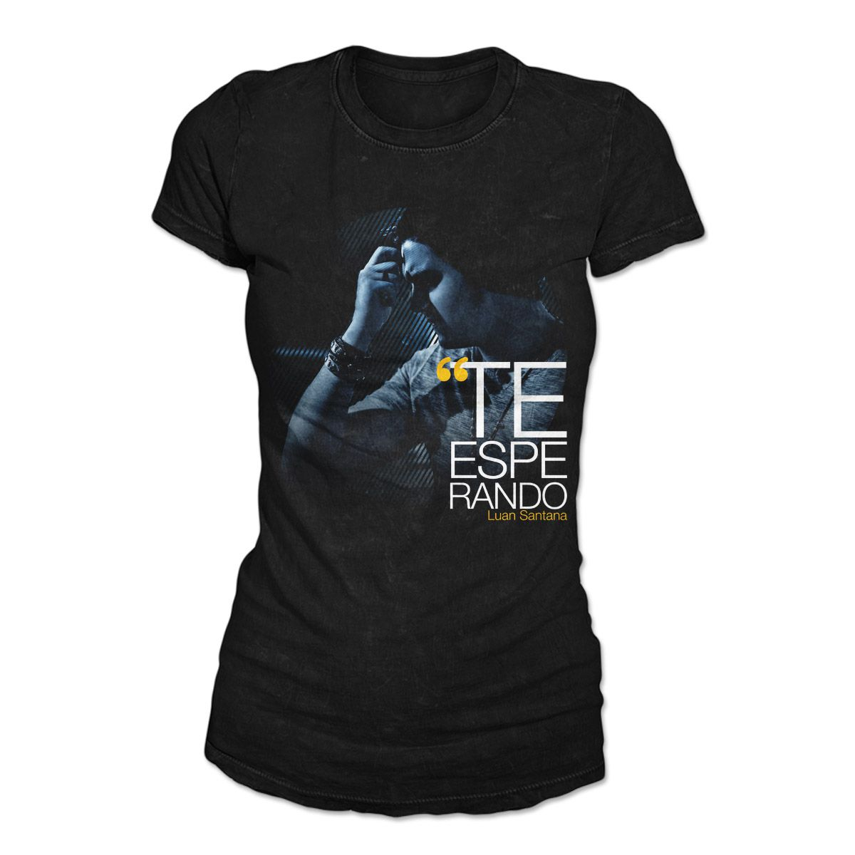 Camiseta Feminina Luan Santana - Te Esperando