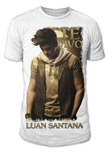 Camiseta Masculina Luan Santana - Te Vivo
