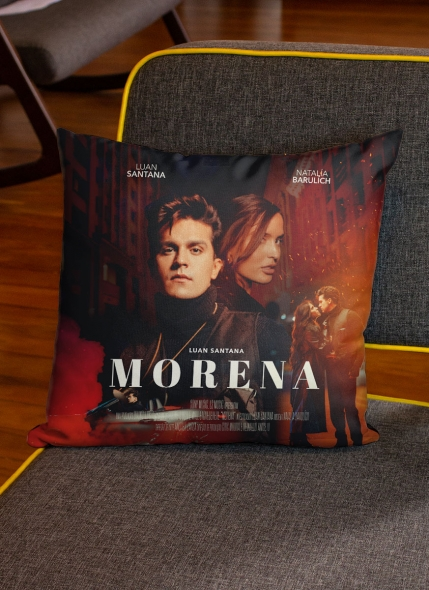 Almofada de Tecido Luan Santana Morena