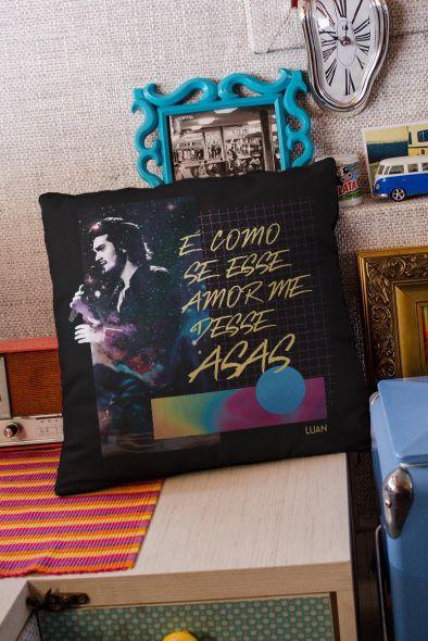 Almofada Luan Santana É Como se Esse Amor me Desse Asas