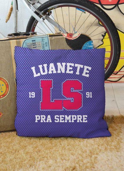Almofada Luan Santana Luanete pra Sempre