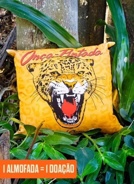 Almofada O Pantanal Chama <b>Onça-Pintada</b>