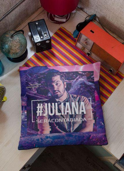 Almofada Personalizada Luan Santana Você será Contagiada