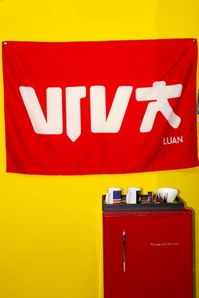 Bandeira de Parede Luan Santana Viva