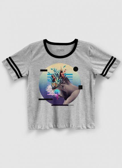 Camiseta Athletic Feminina Luan Santana Check-In