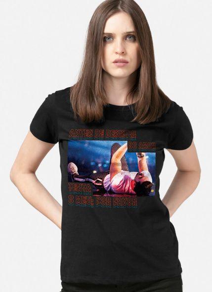 Camiseta Feminina Luan Santana Água com Açúcar