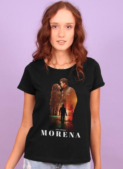 Camiseta Feminina Luan Santana Ela Rouba a Cena