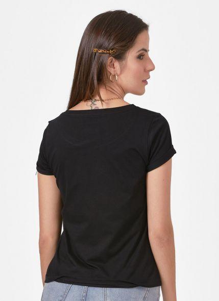 Camiseta Feminina Luan Santana Live História Flores