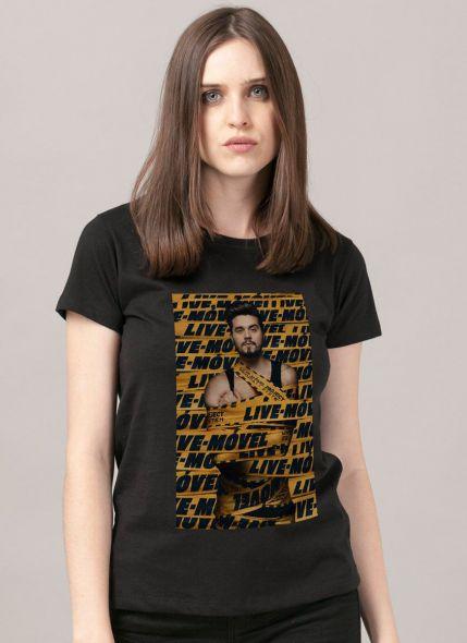 Camiseta Feminina Luan Santana Live-Móvel
