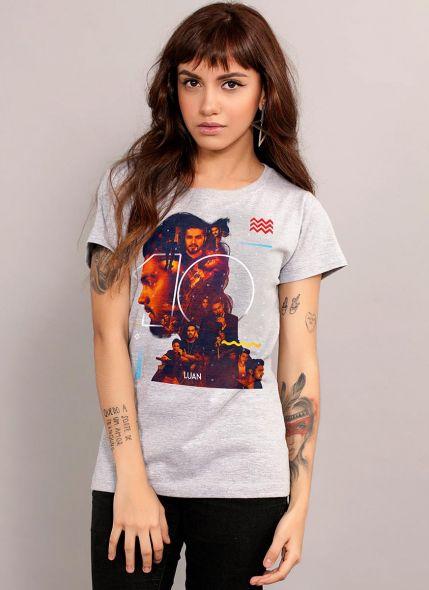 Camiseta Feminina Luan Santana #Luan10anos