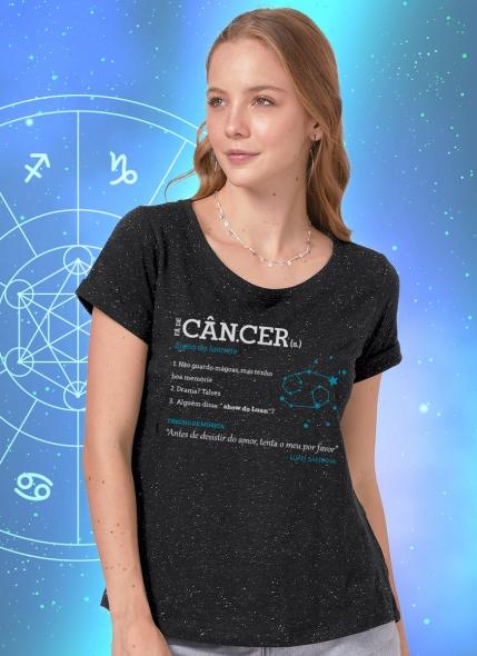 Camiseta Feminina Luan Santana Signo Câncer