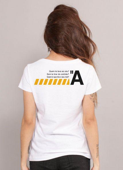Camiseta Feminina Luan Santana Tá em Dúvida