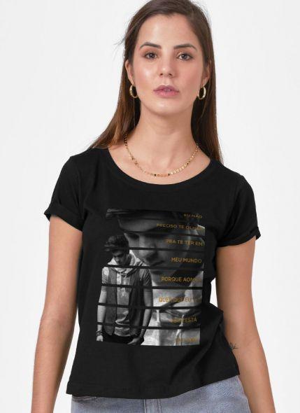 Camiseta Feminina Luan Santana Te Vivo