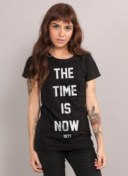 Camiseta Feminina Luan Santana The Time Is Now