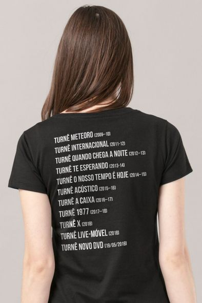 Camiseta Feminina Luan Santana Você será Contagiado Turnês