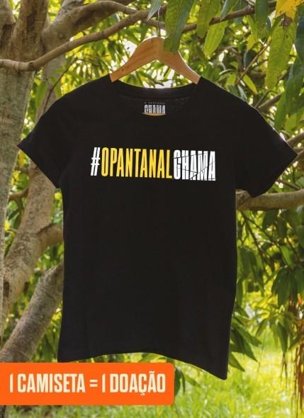 Camiseta Feminina O Pantanal Chama