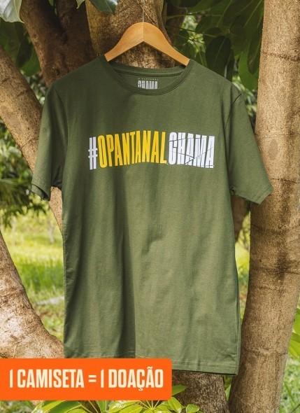 Camiseta O Pantanal Chama