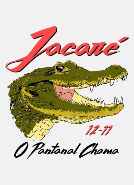Camiseta Feminina O Pantanal Chama <b>Jacaré</b>