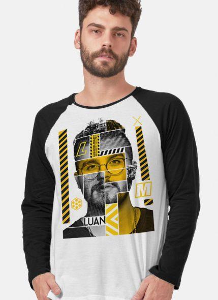 Camiseta Manga Longa Masculina Luan Santana LM