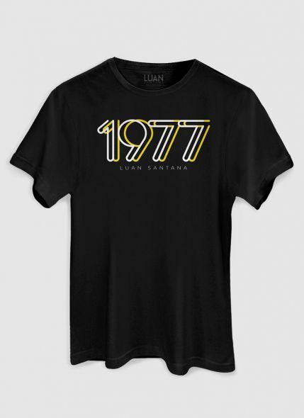 Camiseta Masculina Luan Santana 1977