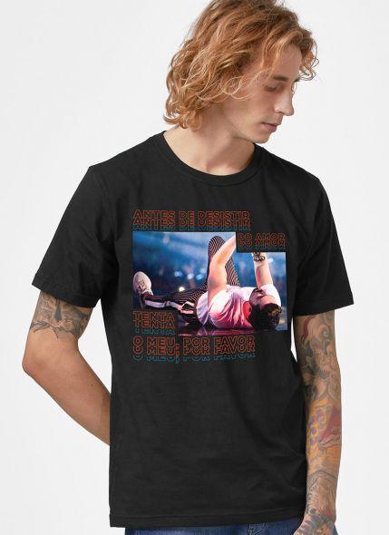 Camiseta Masculina Luan Santana Água com Açúcar