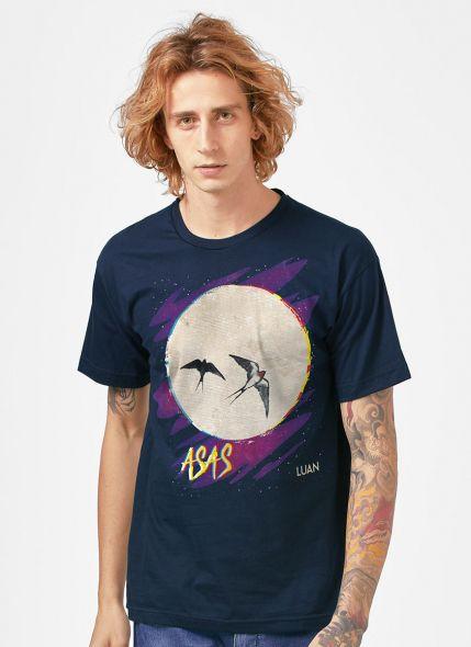 Camiseta Masculina Luan Santana Asas
