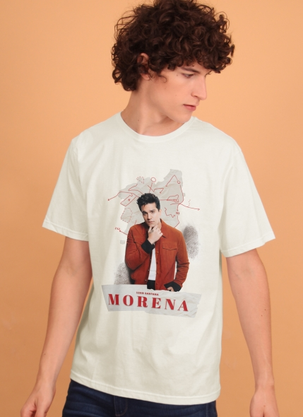 Camiseta Masculina Luan Santana Culpa da Morena