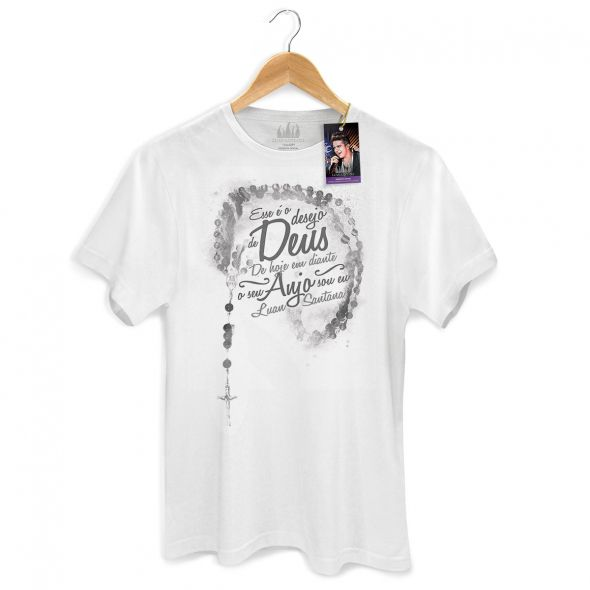 Camiseta Masculina Luan Santana - Mais Que Amigos