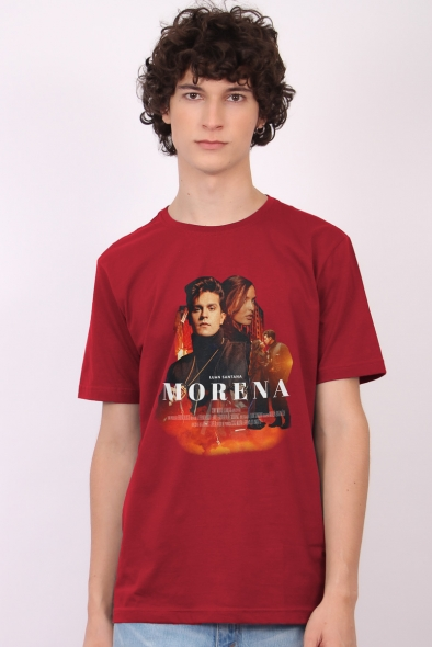 Camiseta Masculina Luan Santana Morena