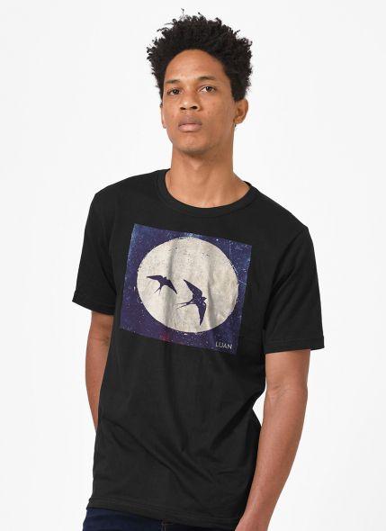 Camiseta Masculina Luan Santana Pra Viajar em Paz