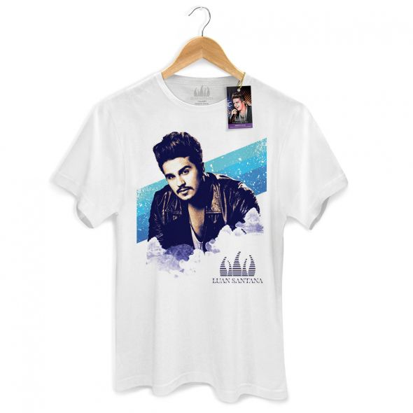 Camiseta Masculina Luan Santana Sky