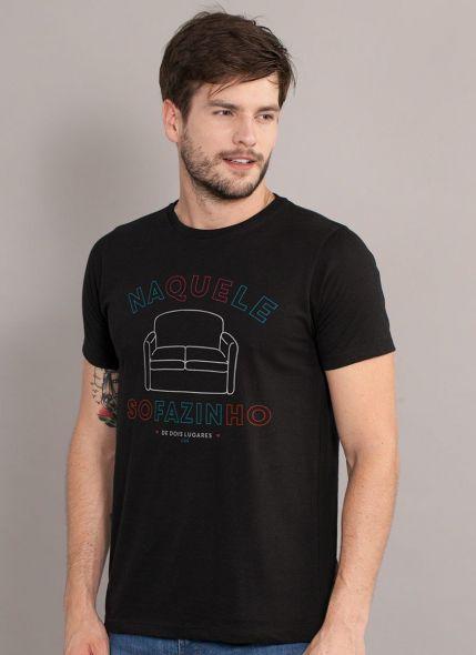 Camiseta Masculina Luan Santana Sofazinho