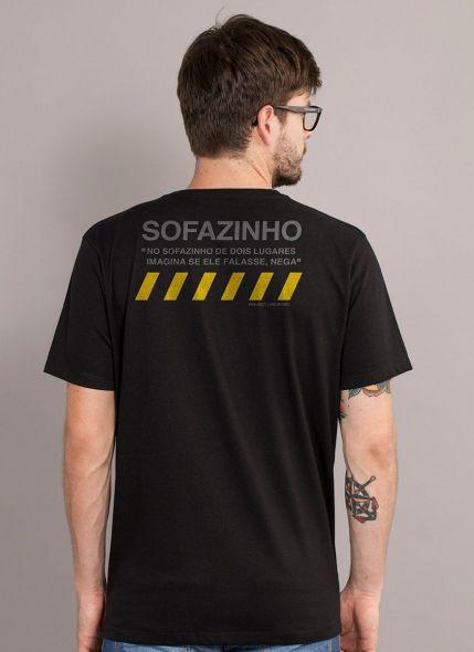 Camiseta Masculina Luan Santana Sofazinho de Dois Lugares