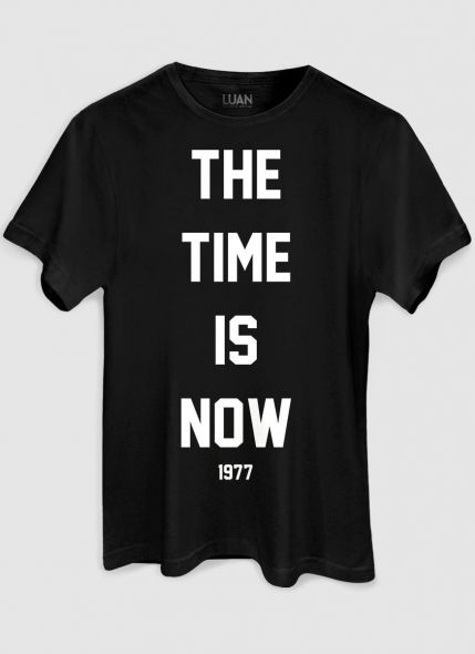 Camiseta Masculina Luan Santana The Time Is Now