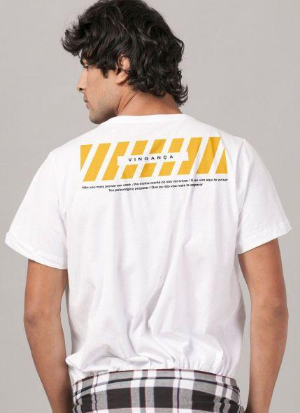 Camiseta Masculina Luan Santana Vingança