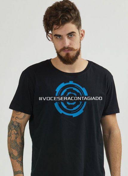 Camiseta Masculina Luan Santana Você será Contagiado Turnês