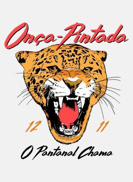 Camiseta O Pantanal Chama <b>Onça-Pintada</b>