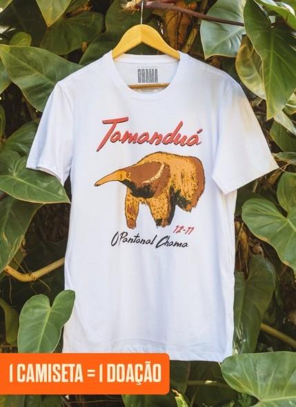 Camiseta O Pantanal Chama <b>Tamanduá</b>