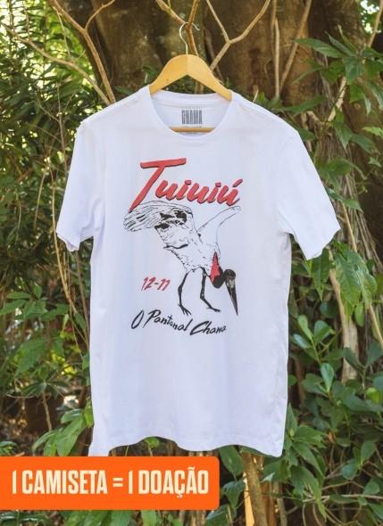 Camiseta O Pantanal Chama <b>Tuiuiú</b>