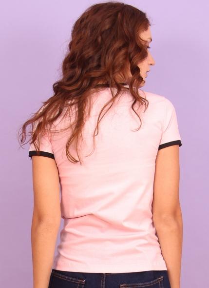 Camiseta Ringer Feminina Luan Santana Lembro da Morena