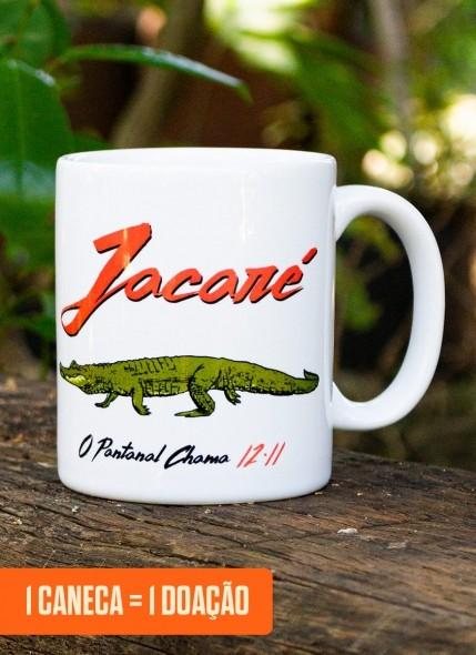 Caneca O Pantanal Chama <b>Jacaré</b>